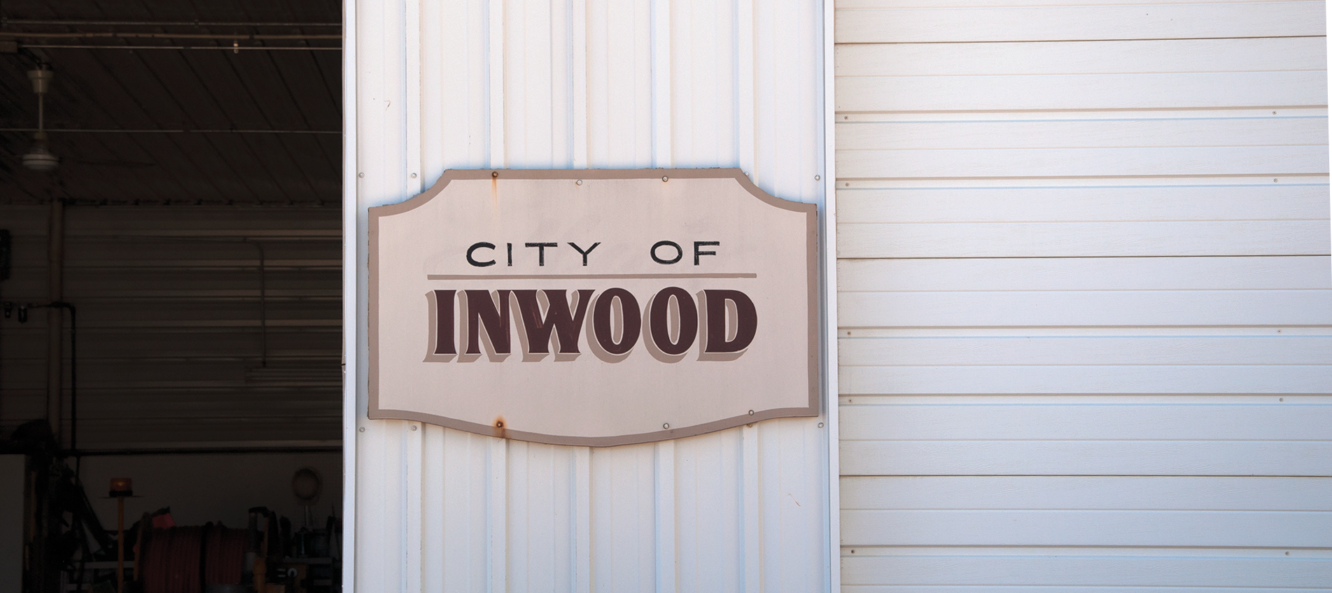 city of inwood sign